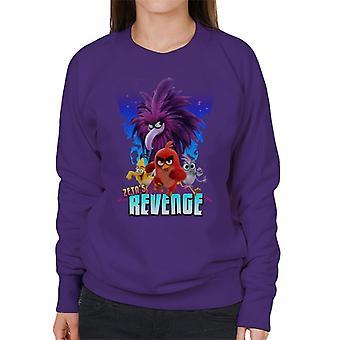Angry Birds Zeta Revenge Women's Sweatshirt