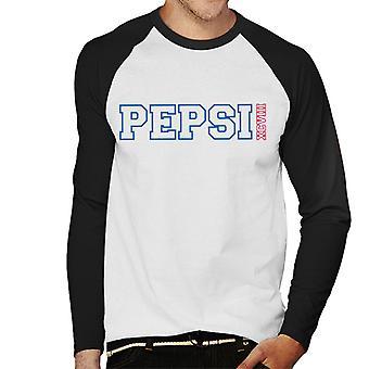 Pepsi college sport mannen ' s honkbal lange mouwen T-shirt
