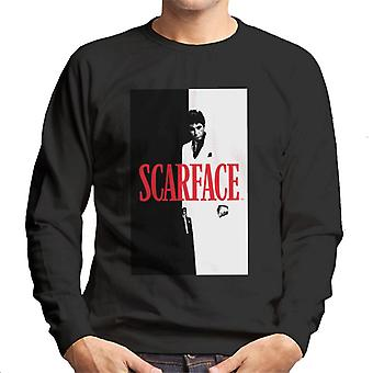 Scarface Movie Poster Men's Sweatshirt