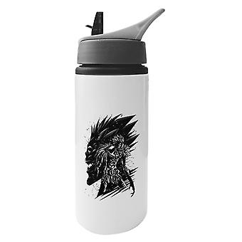 Ryuk Death Note Aluminium Water Bottle With Straw