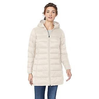 Essentials Naisten kevyt vedenkestävä pullea puffer-takki, Hohkavesi, Keskikokoinen