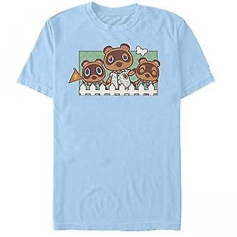 Animal Crossing Tom Nook and The Nooklings T-Shirt