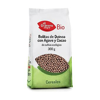 Organic Quinoa with Agave and Cocoa Balls 300 g (Cocoa)