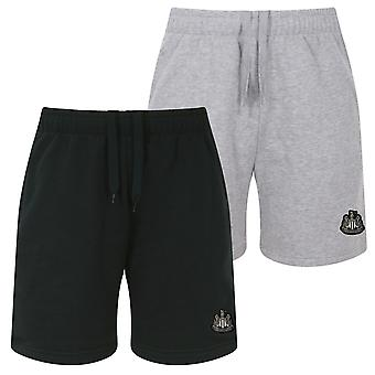 Newcastle United FC Officiel Football Gift Mens Fleece Jogger Shorts