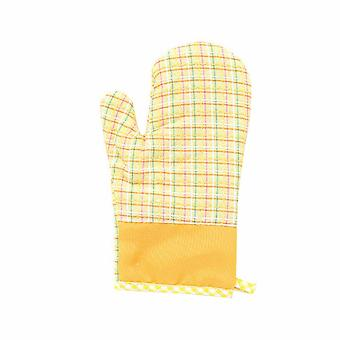 Mikrovågsugn Handskar Tjock bomull gul