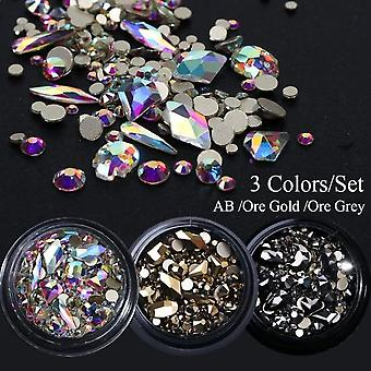 Nail Art Decorations Crystal Gems Jewelry Manicure Accessorie