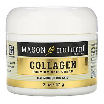 Mason Natural, Collagen Premium Skin Cream, 2 oz (57 g)