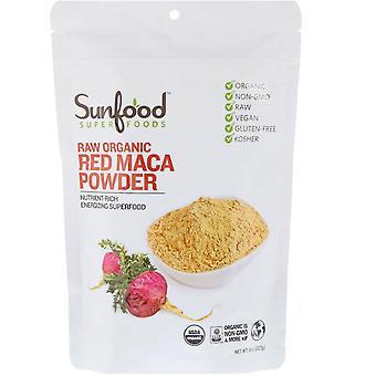 Sunfood, Raw Organic Red Maca Powder, 8 oz (227 g)