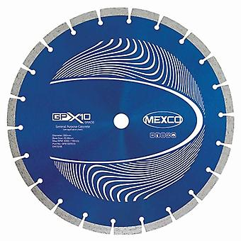 Mexco 350Mm Beton X10 Grade Diamond Blade