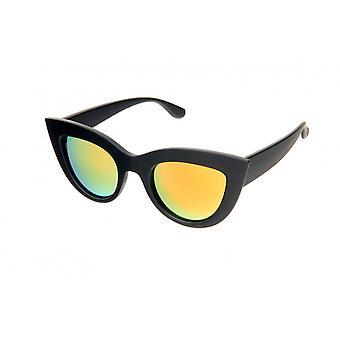 Solbriller Kvinders Sort /Gul (H56)