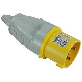 Faithfull Power Plus Yellow Plug 32 Amp 110 Volt FPPPLUG32AMP