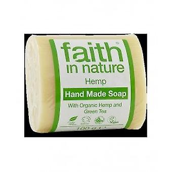 Faith In Nature - Hemp & Green Tea Soap - Organic