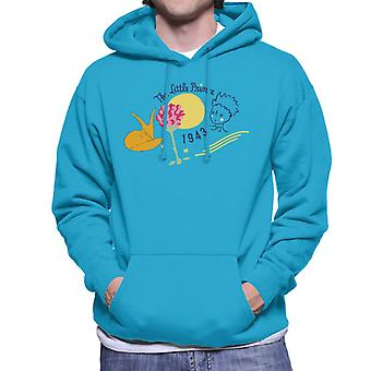 The Little Prince Fox & Rose 1943 Men's Hooded Sweatshirt