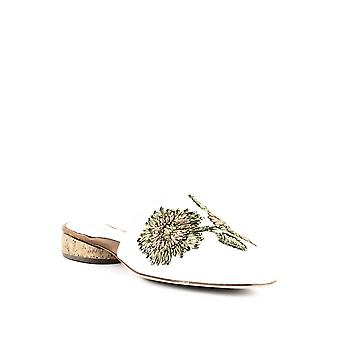 Andre Assous | Lucia Embroidered Mules