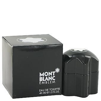 Montblanc emblem eau de toilette spray por mont blanc 38 ml