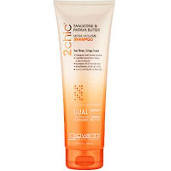Giovanni Cosmetics 2chic Ultra Volume Tangerine and Papaya Butter Shampoo, 24 oz