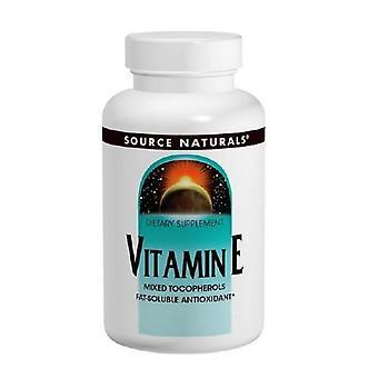 Quelle Naturals Vitamin E D-Alpha Tocopherol Softgels, 400 I.E., 50 Softgel
