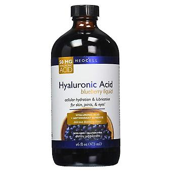 Neocell Laboratories Pure Hyaluronic Acid. Blueberry Liquid, 16 oz
