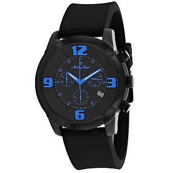 Mathey Tissot Men's Classic Black Dial Watch - H511CHBUB