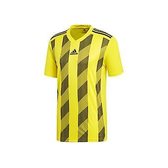 Adidas Çizgili 19 DP3204JR futbol tüm yıl erkek t-shirt