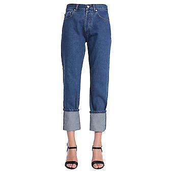 Forte Couture Fcfw18114 Women's Blue Cotton Jeans