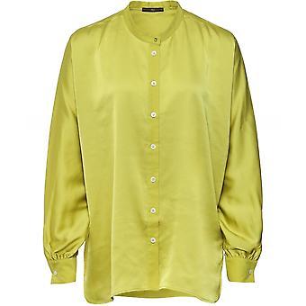 High Nicety Satin Shirt