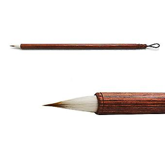 Pieni kalligrafia harjaa kynää villa- ja näätäkarvakirjoittamiseen