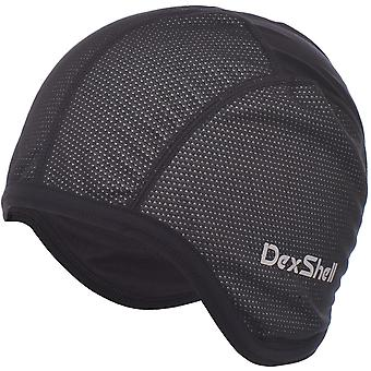 DexShell Unisex Adults 4-Way Stretch Windproof Thermal Cycling Skull Cap - Black
