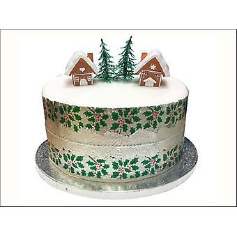 Anniversary House Mini Gingerbread House Topper BX298