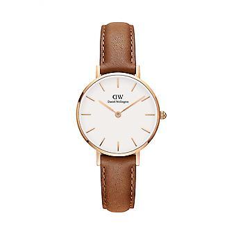 Daniel Wellington DW00100228 Classic Durham Petite Brown Strap Wristwatch