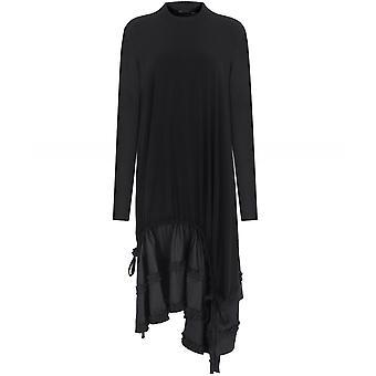NU Tiered Drawstring Dress