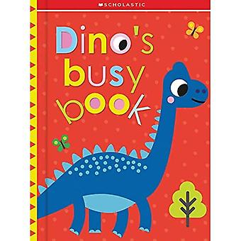 Dino's Busy Book: Scholastic Early Learners (Touch and Explore) (Scholastic Early Learners)