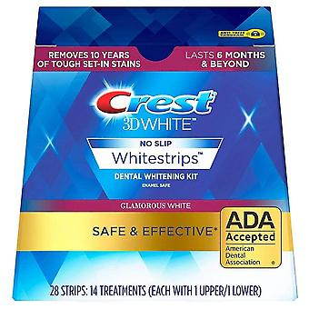 Crest 3D witte 3D whitestrips luxe glamoureuze wit, 28 EA
