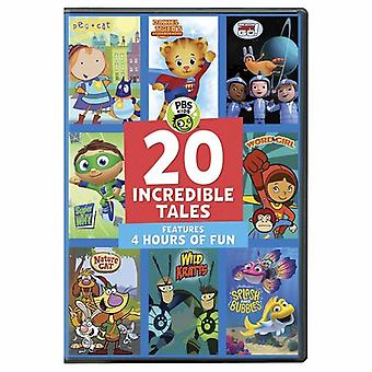 PBS Kids: 20 Incredible Tales [DVD] USA import