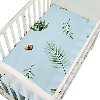 Crib Fitted Sheet, Soft Breathable Baby Bed Mattress Cover