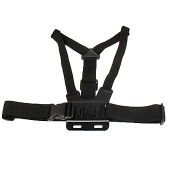 Extreme Sport Front Chest Elastic Belt Shoulder Strap Mount Holder for GoPro  NEW HERO /HERO6   /5 /5 Session /4 Session /4 /3+ /3 /2 /1, Xiaoyi and O