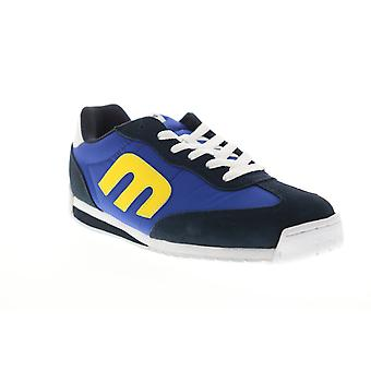 Etnies Lo Cut CB  Mens Blue Canvas Skate Inspired Sneakers Shoes