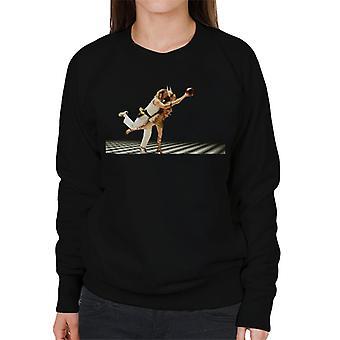 The Big Lebowski The Dude en Maude Bowling Dream Sequence Women's Sweatshirt