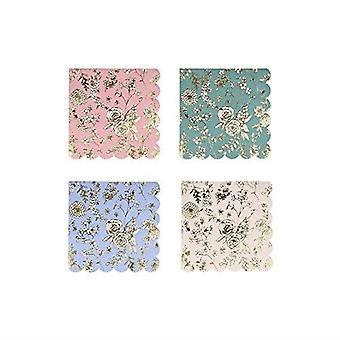 Meri Meri English Garden Lace Small Paper Party Napkins x 16