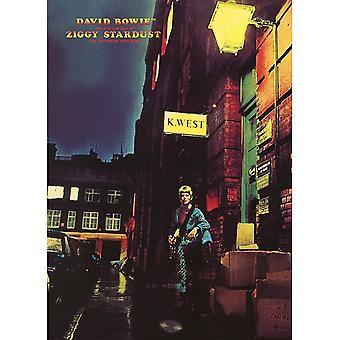 David Bowie Ziggy Stardust Postcard