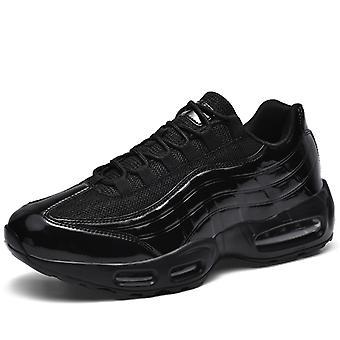 Hombres Air Cushion Zapatos de Running Deportivo 0580 Negro