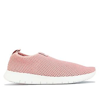 Women's Fit Flop Airmesh Slip On in Pink