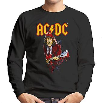 AC/DC Angus Young Men's Sweatshirt