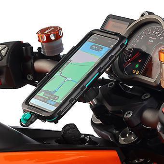 Üst kelepçe adv motosiklet montaj su geçirmez evrensel sert durumda sony xperia