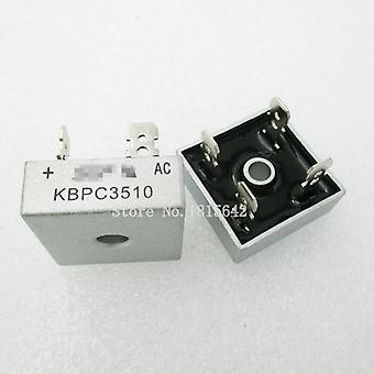 2pcs/lot Kbpc3510 35a 1000v Diode Bridge Rectifier