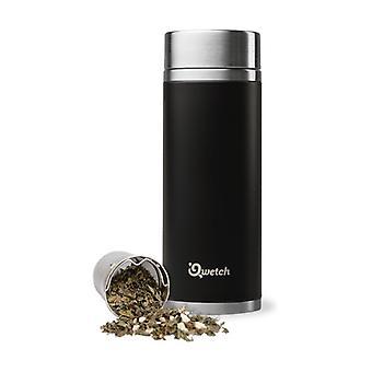 Inox Isothermal Teapot - Black 300 ml