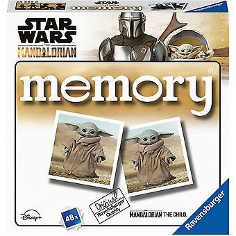 Ravensburger Star Wars Mandalorian - Mini Juego de memoria