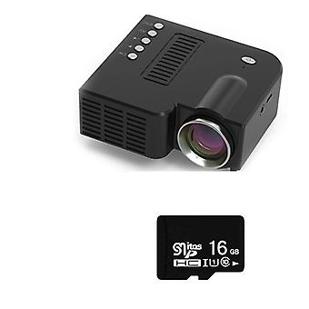 Led Mini Projector Video Beamer Support 4k Video U Disk Tf Card Stb
