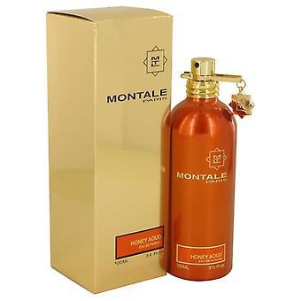 Montale Honig Aoud Eau De Parfum Spray von Montale 3.4 oz Eau De Parfum Spray