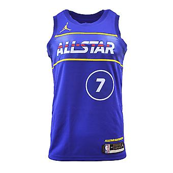 Nike Air Jordan Swingman Jersey Allstar 2021 Kevin Durant CV4651403 basquete masculino t-shirt